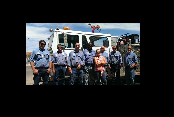 Tyco Simplexgrinnell Recognizes The University Of Arizona Life Safety Team